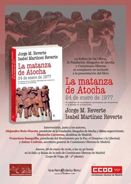 invitación Atocha